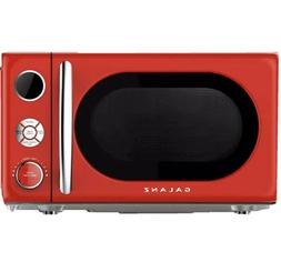Galanz 0.7 cu. Ft. 700-Watt Countertop Microwave in Red, Ret