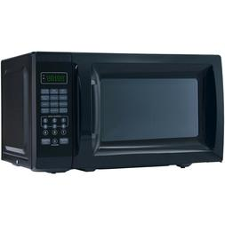 Mainstays 0.7 Cu. Ft. 700W Black Microwave with 10 Power Lev