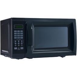 Mainstays 0.7 Cu. Ft. 700W Black Microwave with 10 Power Lev