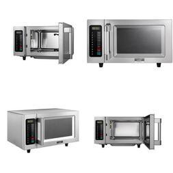 0.9 Cu. Ft. 1000-Watt Commercial Countertop Microwave Oven P