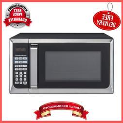 0.9 Cu. Ft. 900 Watt Stainless Steel Countertop Microwave Ov