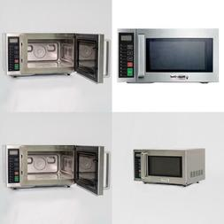 0.9 cu. ft. Commercial Countertop Microwave in Stainless Ste