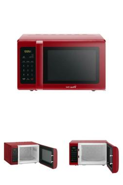 0.9 cu. ft. Countertop Microwave in Red