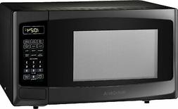 0 9 cu ft microwave black