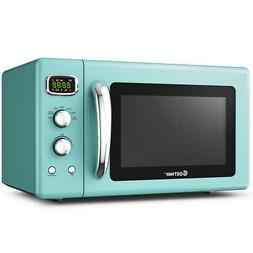 0.9Cu.ft. Retro Countertop Compact Microwave Oven 900W for K