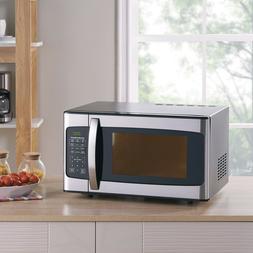 1.1 cu. ft. 1000 Watt Microwave, Stainless Steel Hamilton Be