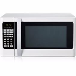 Hamilton Beach 1.1 cu ft Digital White Microwave Oven New Do