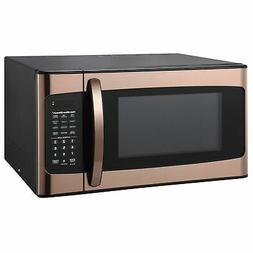 Hamilton Beach 1.1 cu FT Kitchen Microwave Oven Cooking Copp
