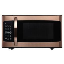 Hamilton Beach 1.1 Cu. Ft. Microwave Oven, Copper