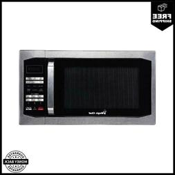 Magic Chef 1.6 Cu. Ft. 1100W Countertop Microwave Oven With
