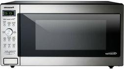 Panasonic 1.6 cu. ft. Countertop Microwave in Stainless Stee
