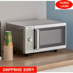 Galaxy 1000 Watt Commercial Office Microwave Oven with Dial