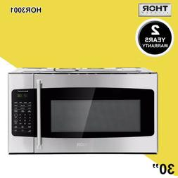 "30"" Thor Countertop Microwave Ovens 1.7cu.ft Build-in Stainl"