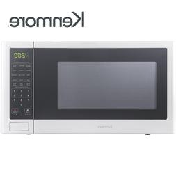 Kenmore 75652 1.2 cu. ft Countertop Microwave Oven White BRA