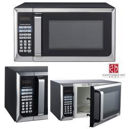 Hamilton Beach 900W 0.9 Cu. Ft. Counter-Top Microwave Oven,