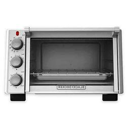 BLACK+DECKER 6-Slice Convection Countertop Toaster Oven, Sta