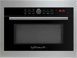 """Master Chef, 5 Ovens in 1, 24"""" in.Built In Convection Microw"""