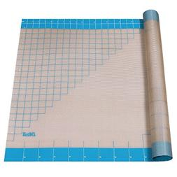 """Silicone Pastry Mat with Measurements, 36"""" x 24"""", Full Stick"""