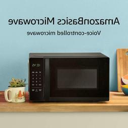 Amazon Basics Countertop Microwave, Small, 0.7 Cu. Ft, 700W,