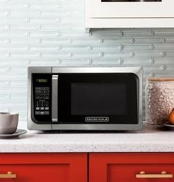 Black Decker EM925AJK-P1 0.9 Cu. Ft. Microwave With Pull Han