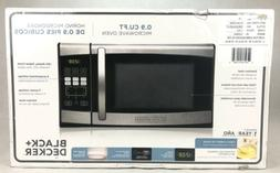 BLACK+DECKER Stainless Steel Microwave with Turntable 900 Wa