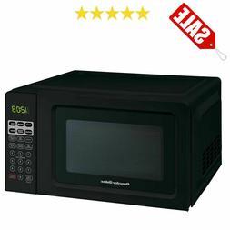 Black Digital Countertop Microwave Oven Dorm Room Office 700