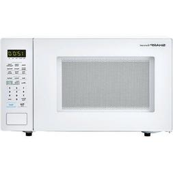 Carousel 1.4 Cu. Ft. 1100W Countertop Microwave Oven in Blac