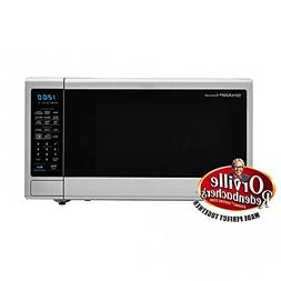 Carousel 1.4 Cu. Ft. 1000W Countertop Microwave Oven with Or