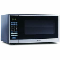 Commercial Chef CHCM11100SSB Countertop Microwave, 1.1 Cu. F