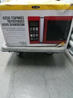bella  compact microwave bm009aptrda. Open box* NEW*