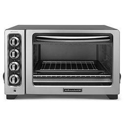 """KitchenAid  12"""" Convection Countertop Oven Silver RKCO234CU"""