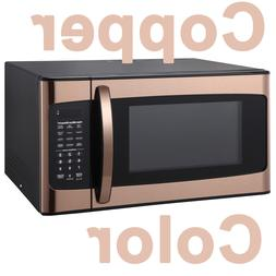 copper color 1 1 cu ft microwave