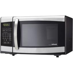 Danby 0.7-cu ft Countertop Microwave 120 volts, Stainless St