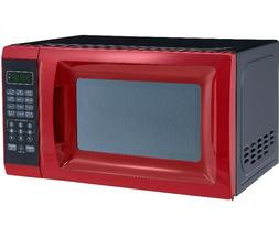 Countertop Microwave Oven 700W w Removable Rotating Glass Tu