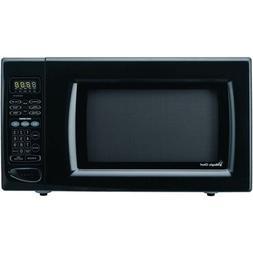 1.6 Cu. Ft. 1100W Countertop Microwave Color: Black