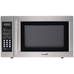 Magic Chef 1 3 Cubic Ft Countertop Microwave Stainless Ste