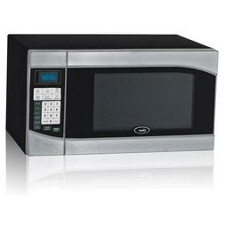Countertop Microwave Stainless Steel Black .9 cu. Ft. 900-Wa