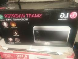 LG Countertop Smart Microwave