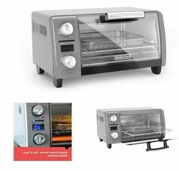 Crisp 'n Bake 4 Slice Silver Countertop Oven air fry toaster