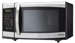 Danby Designer 0.7 cu.ft. Countertop Microwave, Black/Stainl