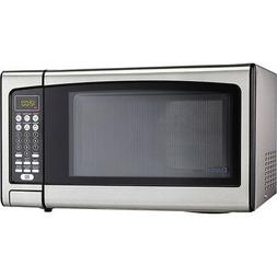 Danby Designer 1.1 Cu.Ft. Countertop Microwave in Stainless