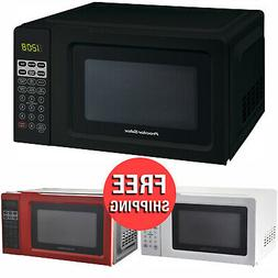 Digital Countertop Microwave Oven 0.7 Cu Ft Home Kitchen Coo