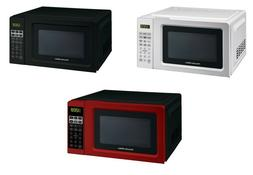 Digital Countertop Microwave Oven Red, Black, White