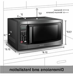 Convection Microwave Oven Combo, Toshiba  EC042A5C-BS