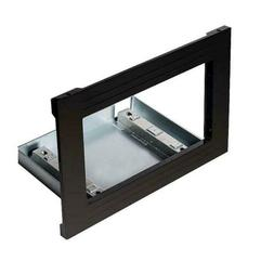 "Kenmore Elite 30"" Countertop Microwave Trim Kit- Black-24309"