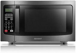 Toshiba  EM131A5C-BS Microwave Oven with Smart Sensor, Easy