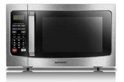 Toshiba  EM131A5C-SS Microwave Oven with Smart Sensor, Easy