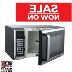 Hamilton Beach Stainless Steel Gray Microwave Oven, Touch pa