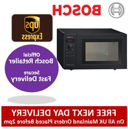 Bosch HMT84M461B 25L 900W Microwave in Black | 2 Year Warran