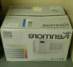 Kenmore 0.9 cu. ft. Countertop Microwave Oven - White-70912-